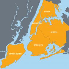 Brownstone homes are located throughout upper Manhattan and Brooklyn.