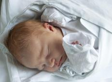 Newborn babies can contract chlamydia from their untreated mothers during the birthing process.