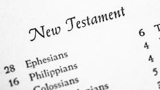 Study of the New Testament is typically needed for a master's degree.