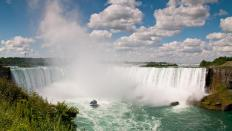Niagara Falls is not far from Love Canal.