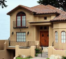 Commercial stucco costs more than traditional stucco.