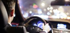 Night driving can be problematic for people who have symptoms of night blindness.