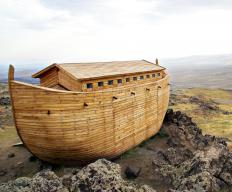 Noahide laws are said to come from Noah, whom the Bible says built an ark to save his family.