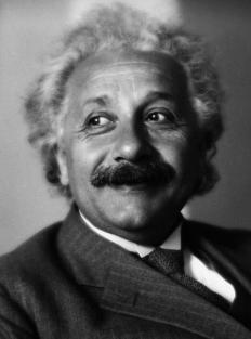 Albert Einstein concluded that gravity could cause light to bend by warping space-time.