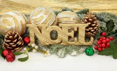 Christmas cards are designed in many different themes and styles.