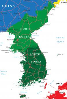 Today, the Korean penninsula remains divided between communist-controlled North Korea and free market-oriented South Korea.