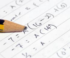 Algebra is a discipline of mathematics wherein a student must find an unknown variable by solving an equation.