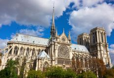 The Cathedral of Notre Dame in Paris is one of the world's most famous examples of Gothic architecture.
