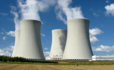 Nuclear power plants generate spent fuel rods as a byproduct of the fission process.