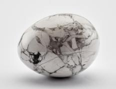 Howlite is naturally white with black stripes.