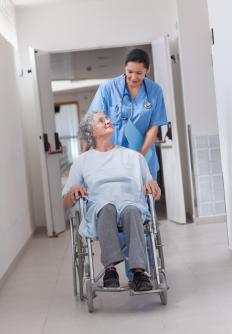 Subacute rehabilitation is often used to teach seniors how to use a wheelchair or walker.