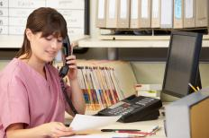 Patients can call their doctor's office to request their medical records.