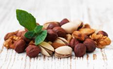 Nuts have fatty acids.