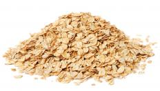 Good quick oats are relatively pale but still tan in color.