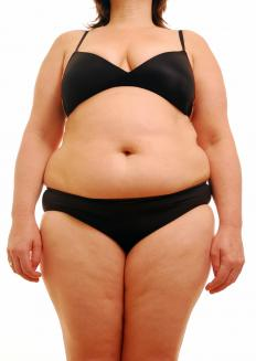 Women who have higher than 30 percent body fat are considered obese.