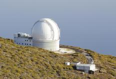 Data and images from observatories may be collected into an online database.