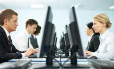 Middle office operations typically includes IT management.