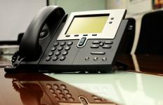 An executive office administrator should have excellent phone skills.