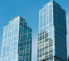 A commercial developer manages commercial real estate property, such as office buildings.