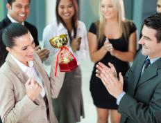 Offering rewards can be a way of increasing employee engagement.