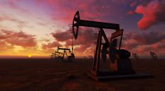 Pumpjacks bring oil to the surface through directional wells that access non-vertical oil reserves.