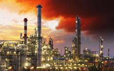 Sulfuric acid is often used as a catalyst in oil refineries.