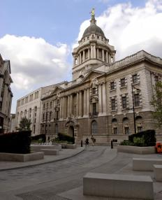 The Old Bailey ruled that -our endings were the correct British spelling in the 17th century.