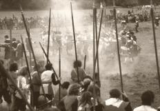 Both sides in the English Civil War could conscript civilians to fight for their cause.