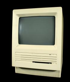Personal computers of the 1980s shared a basic technical architecture with a modern PC, however they had significantly weaker processing power.