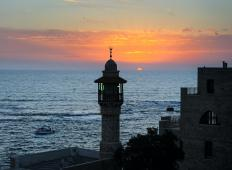 A new day begins at sundown in the Islamic and Jewish calendars.