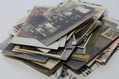 Photo scanners convert old photographs into digital images.