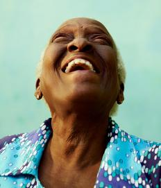 Laughter can help bring the emotional healing needed after a hysterectomy.