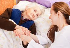 End of life care nurses focus more on comfort than recovery.