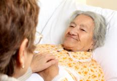 A patient care coordinator helps ensure that patients receive proper medical care.