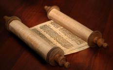 The Torah is considered the written law in Judaism.
