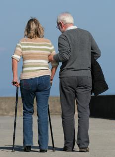 Individuals suffering from degenerative muscle diseases may experience problems with walking.