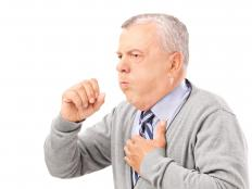 Coughing is the body's attempt to clear the airways and ride the body of extra secretions.