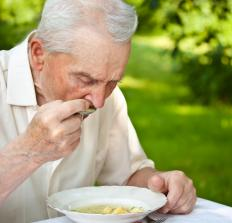 An elderly person with a strong immune system may be able to avoid some gastrointestinal problems.