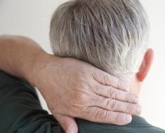 Neck pain is common for those with polymyalgia rheumatica.