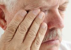 A sinus polyp can cause pain behind and under the eye.