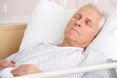 Patients with uncontrolled diabetes may fall into a coma and eventually die.