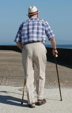 Individuals who have difficulty walking may benefit from an electric scooter.
