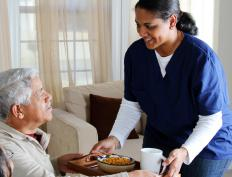 A home care worker may be less expensive than someone relocating to an assisted living facility.