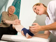 Physical therapy may be helpful in treating bone contusions.