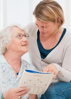 A caregiver contract may outline the specifics of the caregiver's responsibilities.