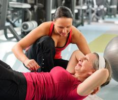 Hiring a personal trainer can help someone stay motivated while trying to lose weight.