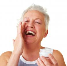 Neuropeptide facial cream may be used to combat wrinkles.
