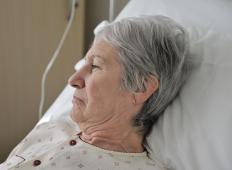Elderly people who experience vomiting may become bedridden due to extreme weakness.