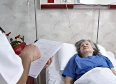 Geriatric nurses receive training that helps them meet the unique needs of elderly patients.