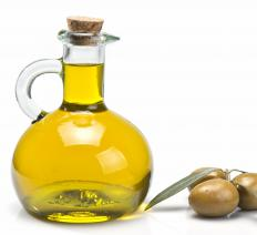Some alternative health practitioners suggest applying olive oil to the scalp to promote hair growth.